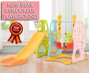 New Bear Colourful Playground
