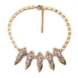 JCREW CRYSTAL POINTS NECKLACE INSPIRED