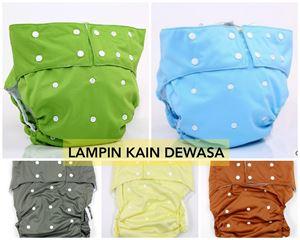 Adult Cloth Diaper Set ( Diaper + insert = 1 set)