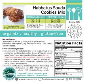 Habbatussauda Cookies Mix