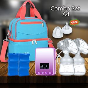 Combo Set A4- Light Blue