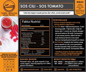 Chilli Sauce / Tomato Sauce