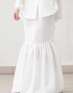 LISA SKIRT IN OFF WHITE