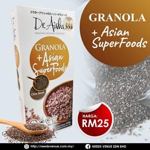 DR. AISHA GRANOLA ASIAN SUPERFOOD CHIA SEED (EXP NOV 2021)