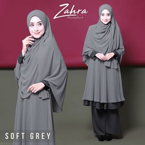 zahra suit (grey) -team sales