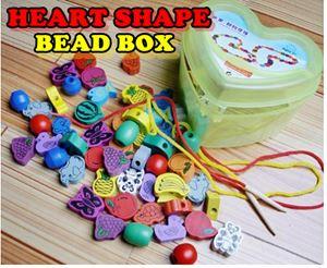 HEART SHAPE BEAD BOX