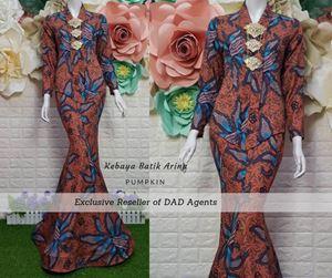Kebaya Batik Arina Pumpkin