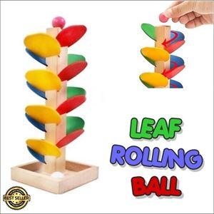 LEAF ROLLING BALL