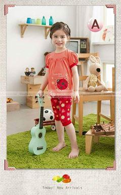 Girl Set - Ladybug Baby Peach-P0041