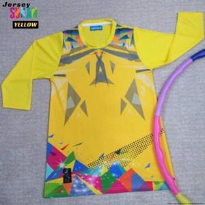 Jersi Sukan 2020 ( KUNING ) - GIRL, XS - 2XL