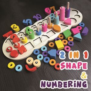 2 IN 1 WORM SHAPE & NUMBERING