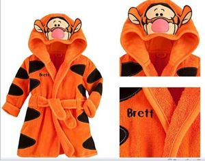 TIGER BATHROBE