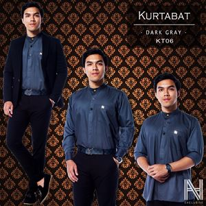 Kurtabat by HANA (Grey)