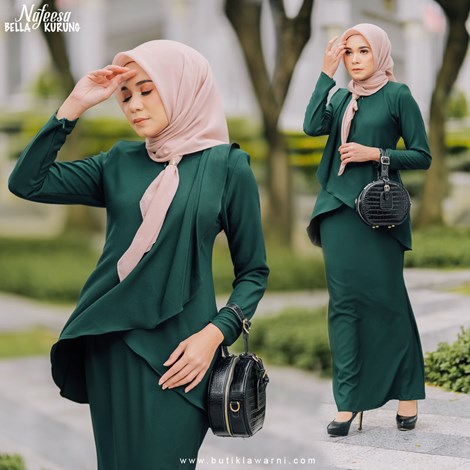 NAFEESA BELLA EMERALD GREEN