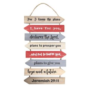 For I know the plans - Jeremiah 29:11