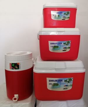 SET COOLER PORTA 4PCS - RED