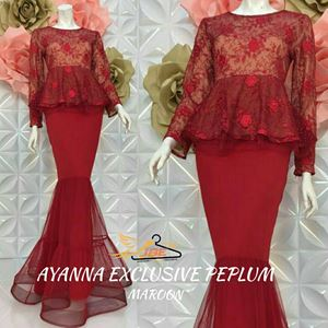 AYANNA EXCLUSIVE PEPLUM