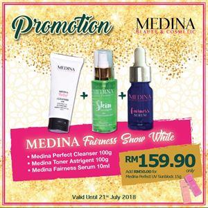Medina Fairness Snow White Set