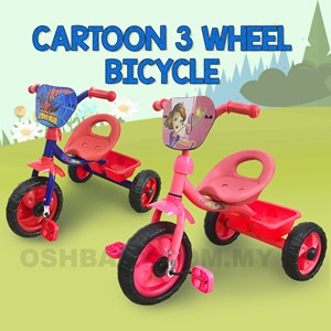 CARTOON 3 WHEEL BICYCLE