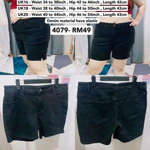 4079 * Ready Stock * Waist 34 to 44inch / 87 - 111cm