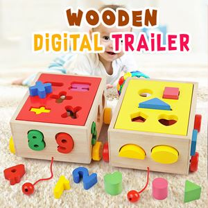 WOODEN DIGITAL TRAILER