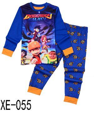 XE-055 'Boboiboy Galaxy' Pyjama (2 - 7 tahun)