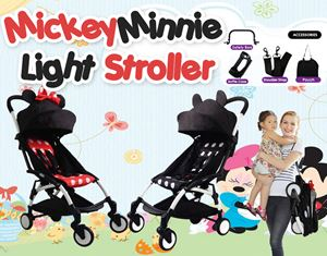 MickeyMinnie Light Stroller