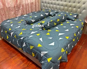 SET COMFORTER - TRIANGLE STRIPE