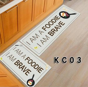 CARTOON KITCHEN CARPET 2PC SET WITH ANTISLIP
