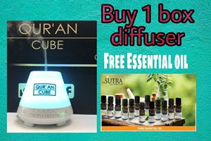 QURAN CUBE DIFFUSER + Free essential oil / Free delivery