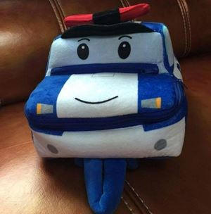 Robocar Poli Plush Backpack - Poli
