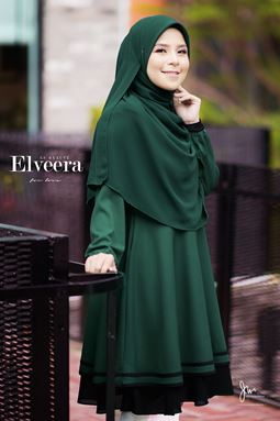ELVEERA ES BEAUTE' ❤️ 02 (EMERALD GREEN)