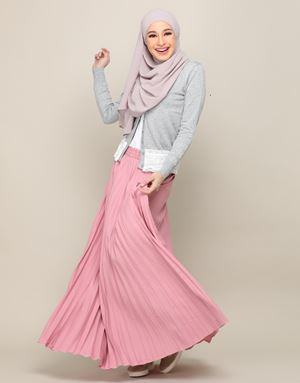 HARPER SKIRT IN BLUSHPINK