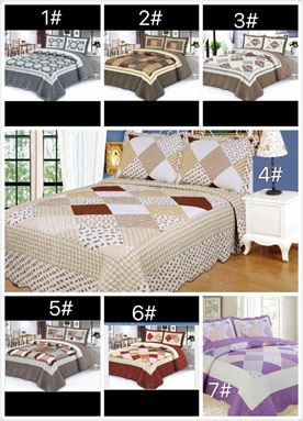 PATCHWORK 6 IN 1 BED SHEET N00628