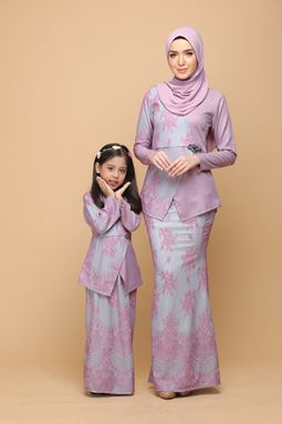 DEWI PINK PURPLE / CYAN (KIDS)