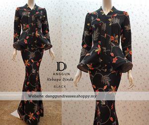 Kebaya Dinda Black