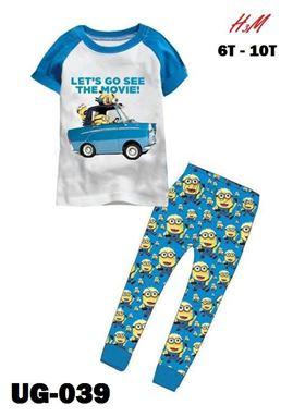 @  UG 039 MINION BLUE CARS