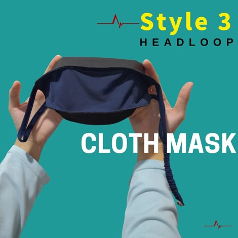3D FACEMASK HEADLOOP