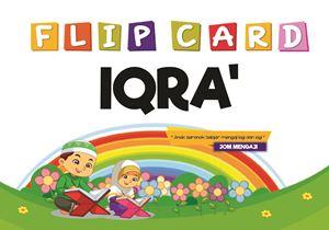 PREORDER BATCH 2- FLIP CARD IQRA'  ETA 7 MAC 2019