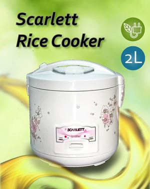 SCARLETT ELECTRONIC RICE COOKER Free Bubble wrap packing