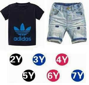 Adidas 2pcs Navy Blue Set