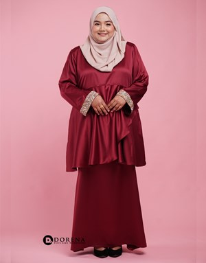 Kurung Azreen (Red)
