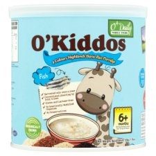 O'Kiddos Fish Bario Rice Porridge For Age 6+ Months 220g