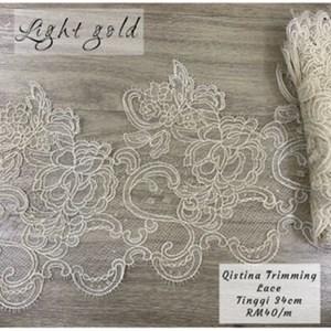 Qistina trimming lace 34cm