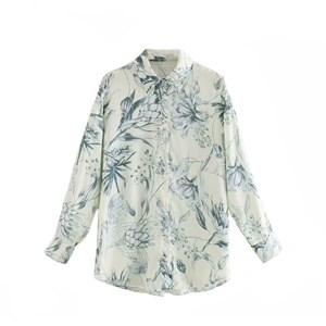 OVERSIZED FLORAL PRINTS TOP