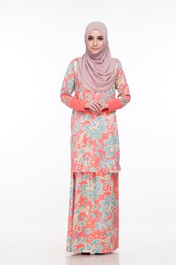 Baju Kurung Melissa (KM103) - Size XS, S, M, XL ONLY available