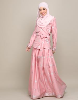 CHEMPAKA SONGKET IN BLUSH