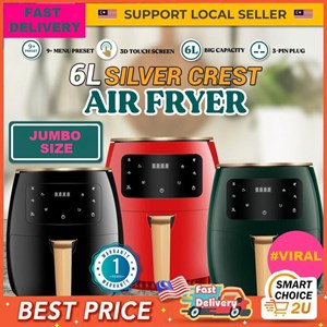 Silver Crest Air Fryer 6L
