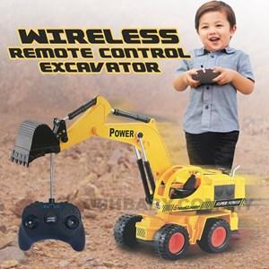 WIRELESS REMOTE CONTROL EXCAVATOR