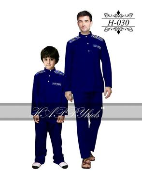 HAPPYkids 2017 Songket Exclusive MAN ( BLUE )